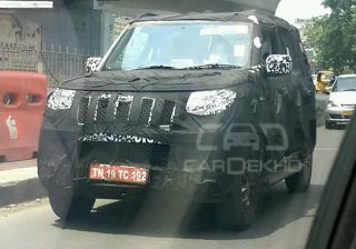 New Mahindra Bolero spied testing in Chennai