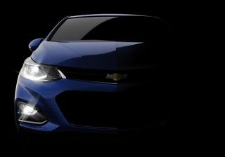 Chevrolet Teased 2016 Cruze, Full Reveal June 24, 2015