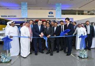 Tata Motors Opens New flagship Showroom & Service Facility in Riyadh