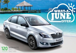 Skoda India Comes Up With What-a-June Offer On Rapid
