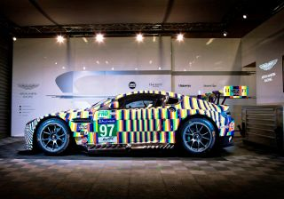 Aston Martin reveals Rehberger Vantage GTE art car