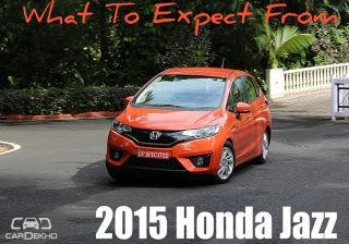 What To Expect From: 2015 Honda Jazz