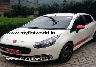 Fiat Abarth Punto EVO Spotted Testing in India