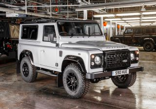Land Rover builds special Defender to mark 2,000,000th production milestone
