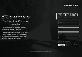 Maruti Suzuki S Cross Website Goes Live as Launch Nears!