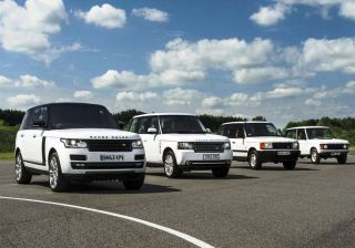 Land Rover turns 45