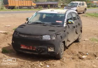Mahindra S101 and U301 Spied, Looking Production Ready!