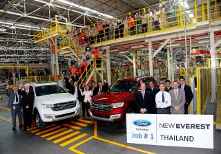 India Bound: 2015 Ford Endeavour enters production in Thailand