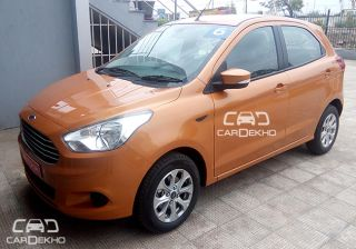 Exclusive: 2015 Ford Figo Spotted at Dealership