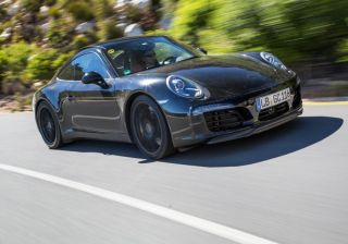 Porsche Teases 911 Facelift during test runs in South Africa