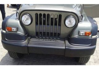 Spied: New Mahindra Thar facelift caught on lenses