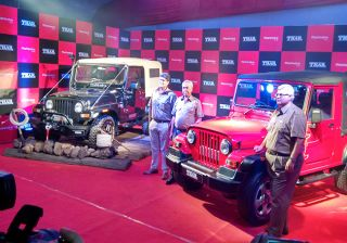 Mahindra Thar CRDe Facelift Launched at Rs 8,03,000, Ex-Showroom Nasik (Gallery Inside)