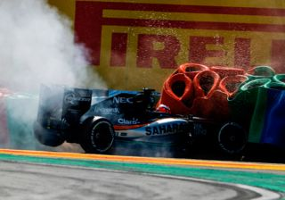 A Force To Be Reckoned With! : Force India Overcomes Crash Disasters.