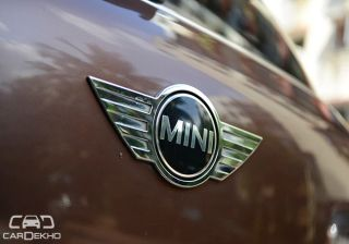 Mini's assembly suspended in India