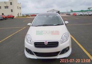 Captured: Upcoming Fiat Linea Elegante Limited Edition
