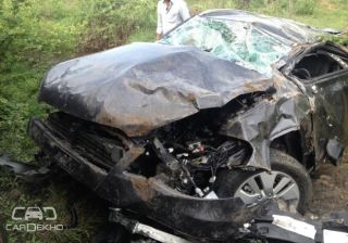 Yet to be Launched Maruti S-Cross Reported its First Accident