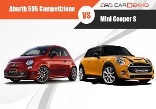 Abarth 595 Competizione vs Mini Cooper S