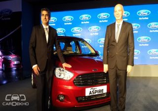 Ford Figo Aspire Launched at Rs 4.89 lacs