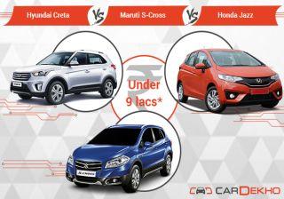 Hyundai Creta Vs Maruti S Cross Vs Honda Jazz: Yes, You Heard It Right!