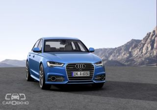 Audi to launch A6 Facelift on August 20, 2015 [Teaser Video]