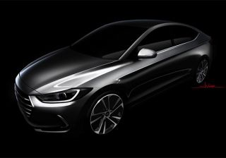Hyundai Teases All-New Elantra: Quite a Looker!