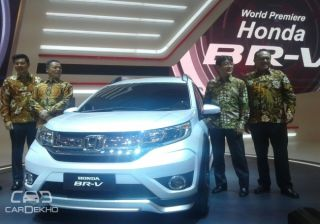India Bound: Honda BR-V Prototype Unveiled - LIVE from Indonesia