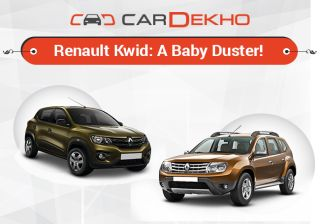 Renault Kwid: A Baby Duster!