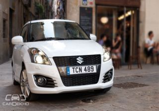 Suzuki Swift likely to get a 1.4 litre Booster Jet Engine in Coming Years