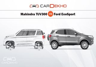 Comparison: How TUV300 will Stand Against Ford EcoSport?