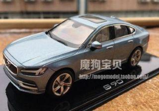 Final Design of Volvo S90 Sedan Leaked