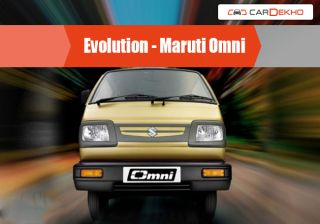 Evolution of Maruti Omni