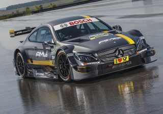 Mercedes-Benz C63 Coupe DTM Race Car Revealed