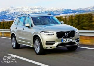 Volvo India Receives 266 pre-orders for the XC90 SUV!