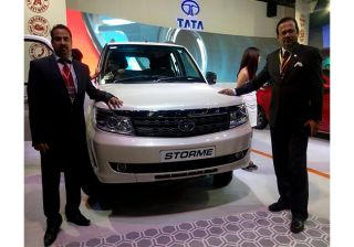 Tata Motors unveils new Storme at 11th NADA Auto Show