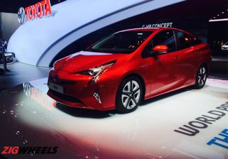 #2015FrankfurtMotorShow : Fourth-Generation Prius Showcased at IAA 2015
