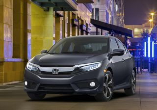 Honda Reveals 10th-Gen Civic Sedan