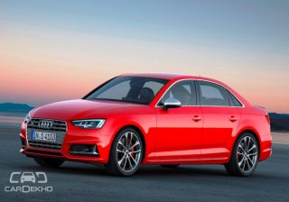 2017 Audi S4 loses supercharger, manual gearbox opts for turbocharging