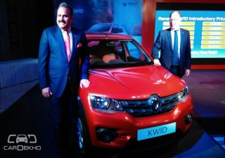 Renault Kwid Launched @ Rs 2.56 lac