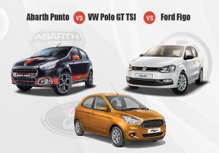 Fiat Abarth Punto EVO vs Competition-Hot Hatches Compared
