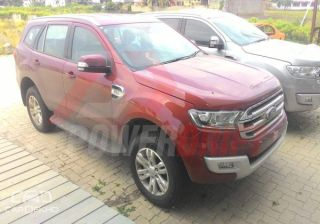 Spied: 2016 Ford Endeavour Undisguised