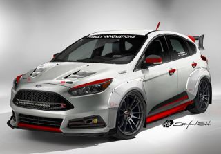 Ford to Showcase a Rally-inspired Focus ST at SEMA