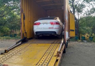 Jaguar XE Spied in India
