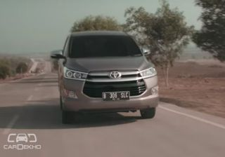 All New Innova Showcased In a New Toyota Video