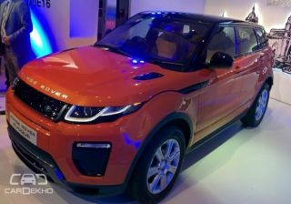 Range Rover Evoque Facelift Launched at Rs. 47.1 lacs