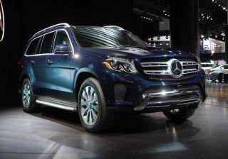 Mercedes-Benz Reveals GLS-Class in 2015 LA Auto Show