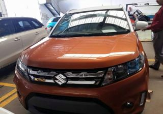 Suzuki Vitara Spied in India