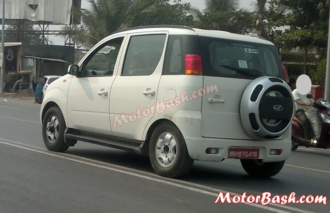 Mahindra Quanto 4x4 Spotted in India