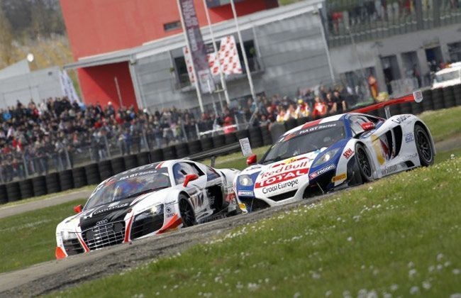 Mclaren 12C GT3 off to a winning start in Europe