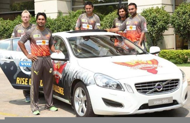 Volvo Cars India Sponsors IPL Team Hyderabad Sunrisers