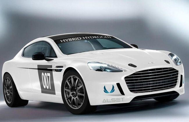 World-First Hybrid Hydrogen Aston Martin Rapide S to debut at Nurburgring